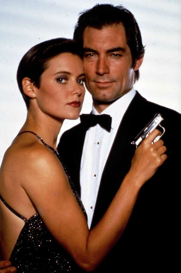 "License to Kill, 1989But it was short-lived, Timothy Dalton starred in his second (and last) Bond film, ""License to Kill"" with Carey Lowell as Pam  Bouvier. Photo: Anonymous, Associated Press / AP2008"