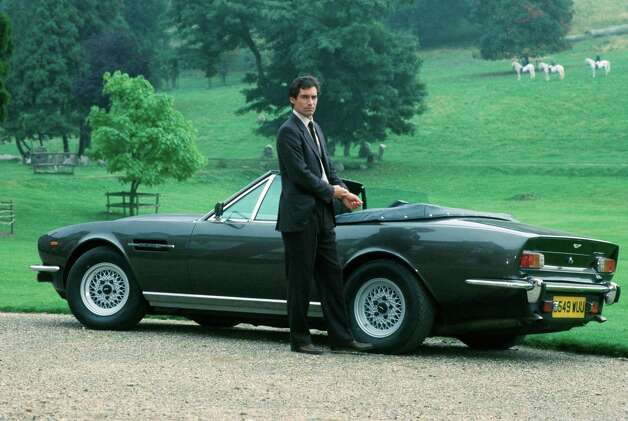 "1987: The Living Daylights — Timothy Dalton begins his stint as Bond in ""The Living Daylights."" Photo: Associated Press"