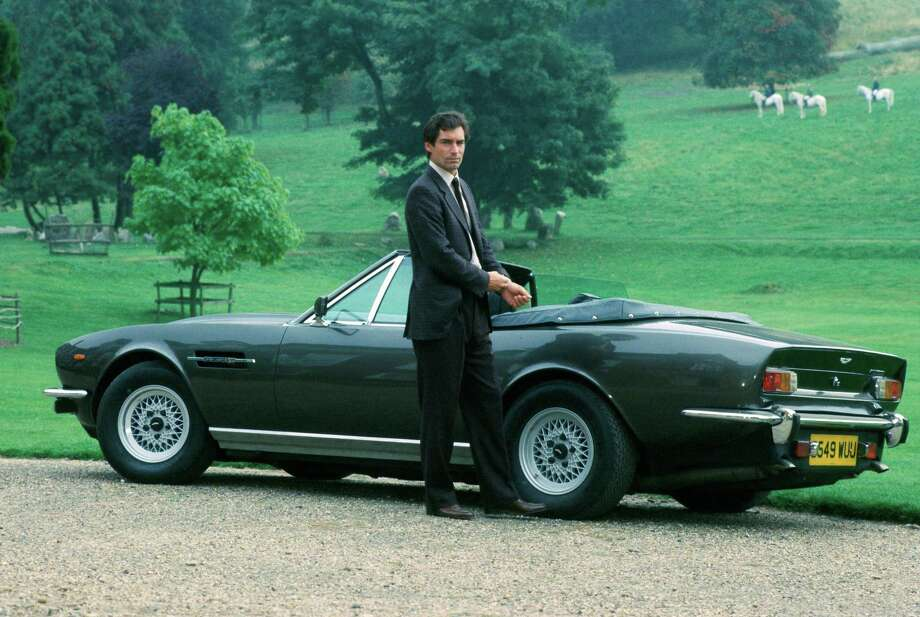 "The Living DaylightsTimothy Dalton begins his stint as Bond in ""The Living Daylights."" Photo: Associated Press"