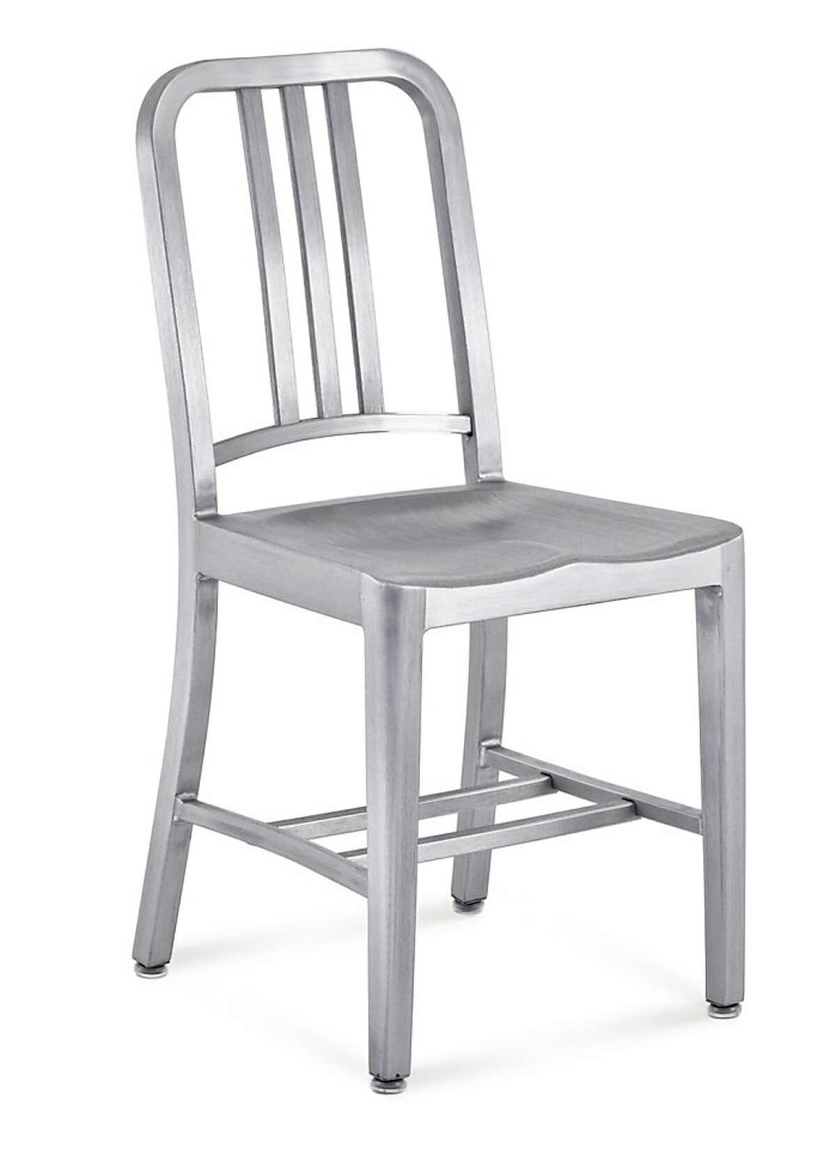 The Emeco Navy chair is built to last 150 years.