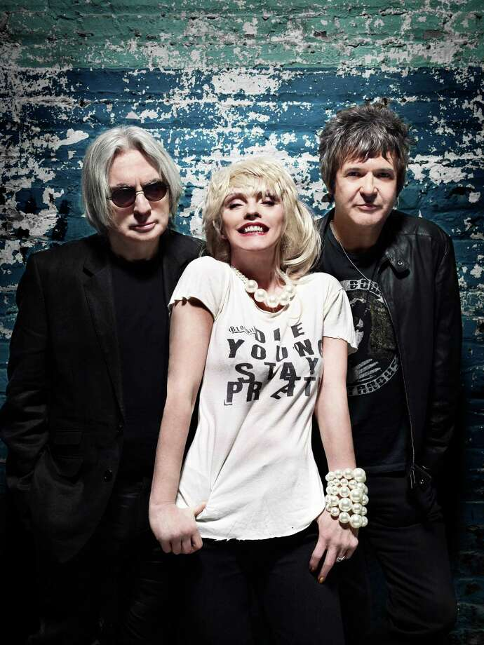 "Three of Blondie's orignal members, Chris Stein, Deborah Harry and Clem Burke, will be performing along with several new members at a Sunday, Oct. 7, 2012, show at the Capitol Theatre, 149 Westchester Ave, Port Chester, N.Y. Last year, the band released its ninth album, ""Panic of Girls."" For more information, call 914-937-4126 or visit www.thecapitoltheatre.com. Contributed photo/F. Scott Schafer Photo: Contributed Photo / Stamford Advocate Contributed"