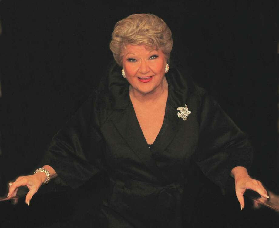 "Often referred to as a ""national treasure,"" cabaret singer Marilyn Maye will be coming to Stamford, Conn., for a concert performance, Friday, Oct. 5, 2012, at the Stamford Center for the Arts' Palace Theatre. She will be accompanied by a number of musicians, including award-winning composer and pianist Billy Stritch. For ticket information, visit www.scalive.org or call 203-325-4466. Photo: Contributed Photo / Stamford Advocate Contributed"