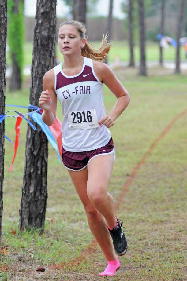 Cy-Fair's Emily Willingham is a senior leader for the Lady Bobcats. Photo: L. Scott Hainline / freelance