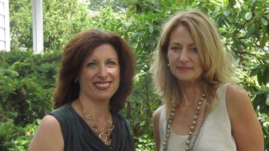 Businesswomen Jennifer Covello, left, and Suzen Pettit have developed  ìMom to Mompreneur Now!î This online series of programs aims to help people learn about ways to work smart, not hard, so they can have time for family while still growing their businesses. Photo: Contributed Photo
