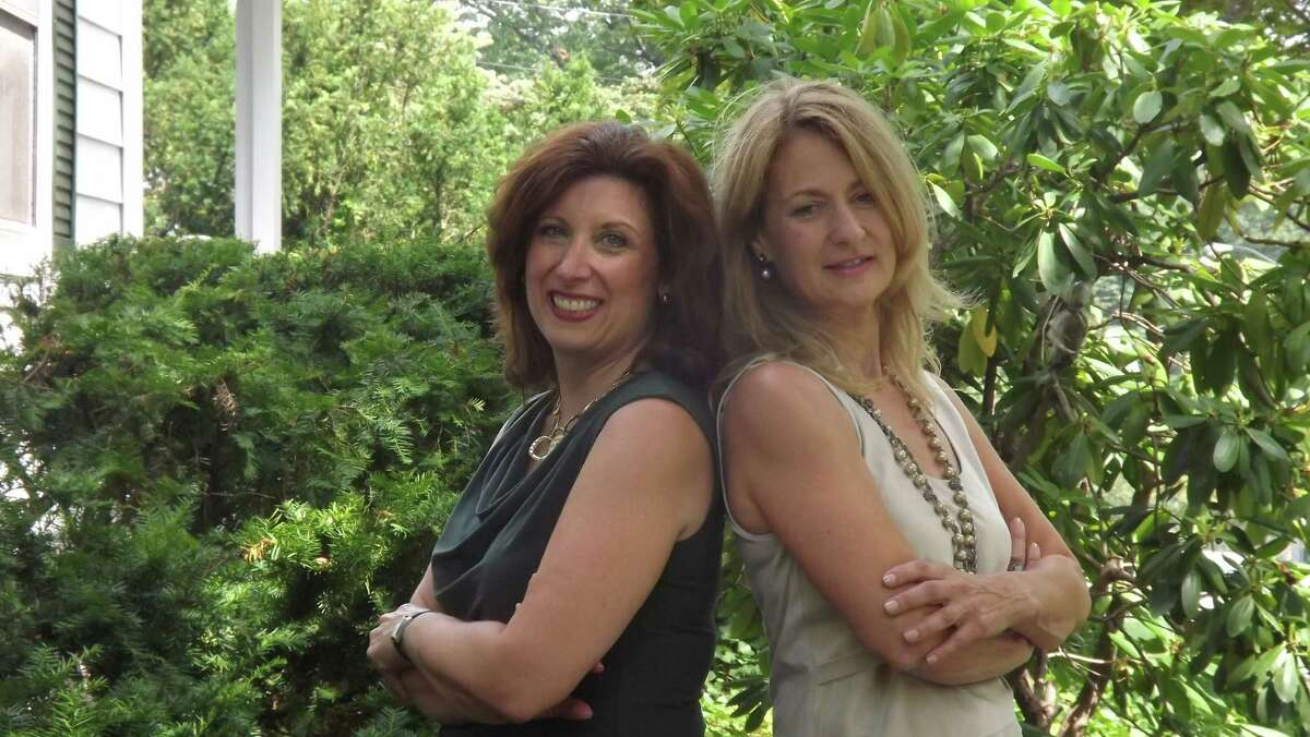 Businesswomen Jennifer Covello, left, and Suzen Pettit have developed ìMom to Mompreneur Now!î This online series of programs aims to help people learn about ways to work smart, not hard, so they can have time for family while still growing their businesses.