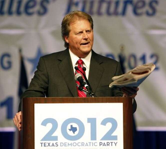 U.S. Senate Candidate Paul Sadler speaks during the the 2012 Texas Democratic Party State Convention