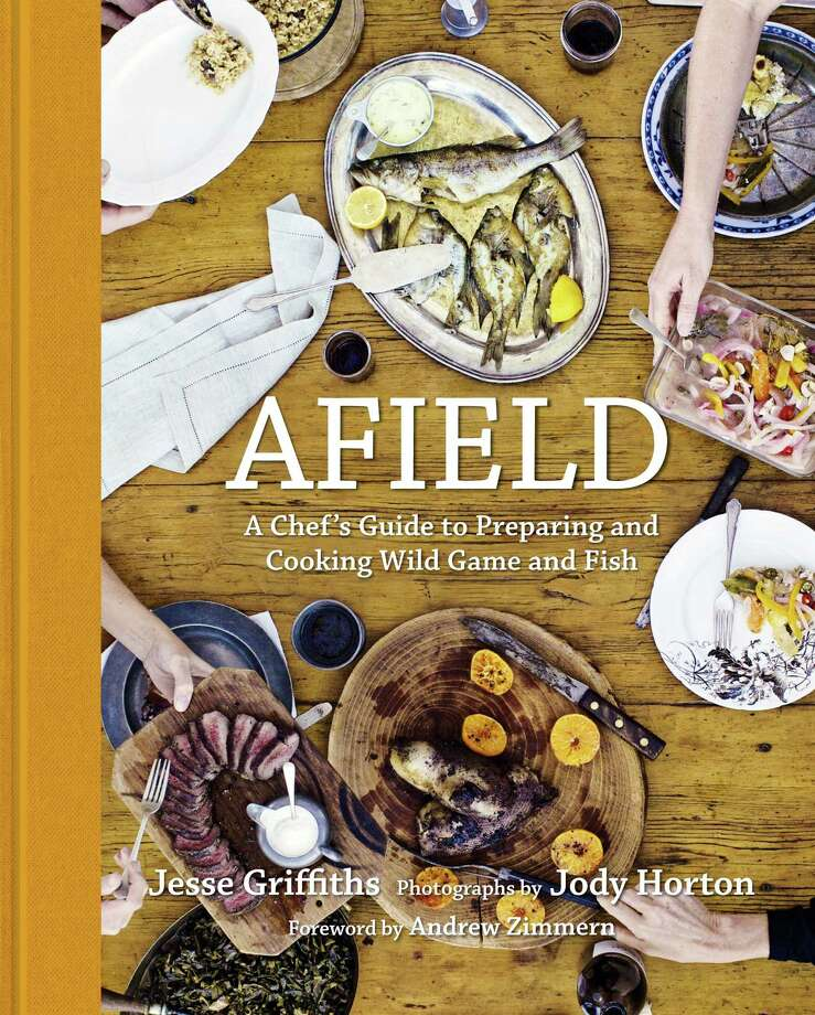 "Cover ""Afield"" by Jesse Griffiths (Welcome Books). Photo: Jody Horton"