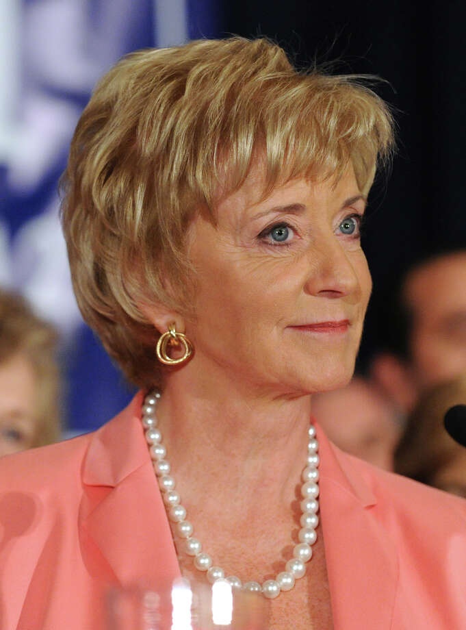 Republican Linda McMahon of Greenwich, candidate for the U.S. Senate. Photo: Bob Luckey / Greenwich Time