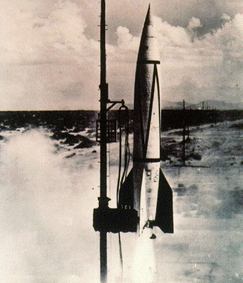 German engineers achieved the first successful launch of a V-2 rocket 70 years ago, on Oct. 2, 1942. The V-2 was the world's first combat ballistic missile and became the basis for future U.S. and Soviet missiles and rockets. Photo: NASA