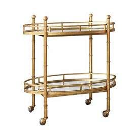 More: $975 Bungalow 5 Normandy Bar Cart from Candelabra (shopcandelabra.com)