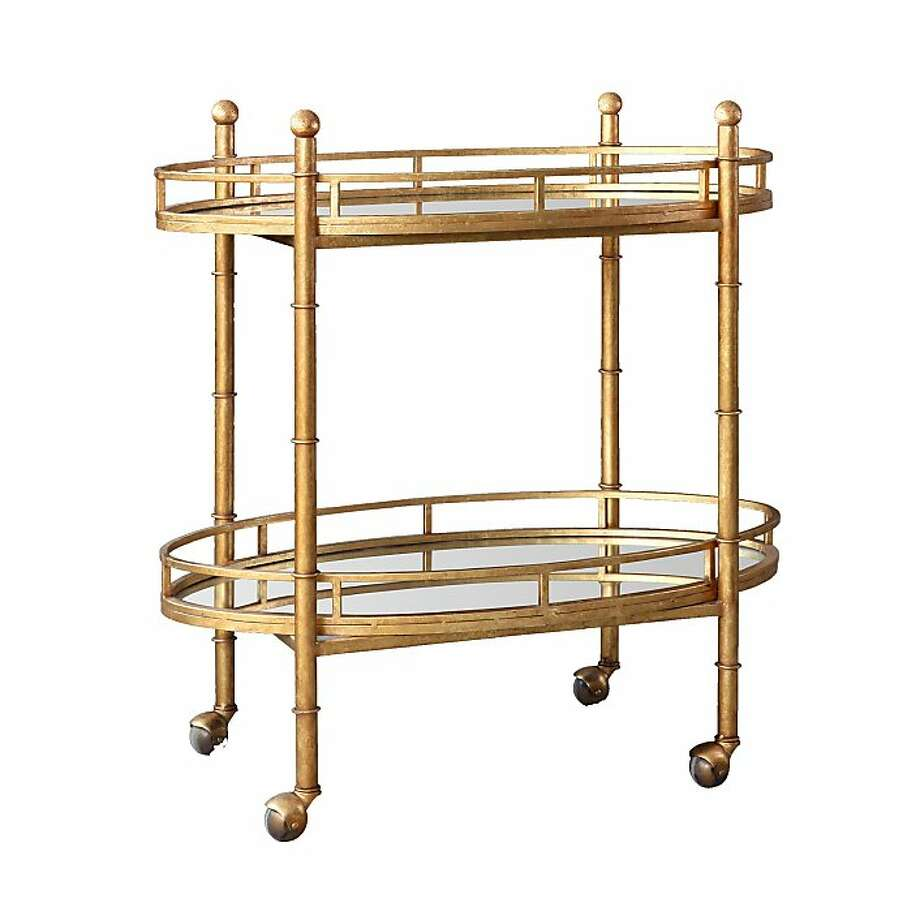 More: $975 Bungalow 5 Normandy Bar Cart from Candelabra (shopcandelabra.com) Photo: Candelabra