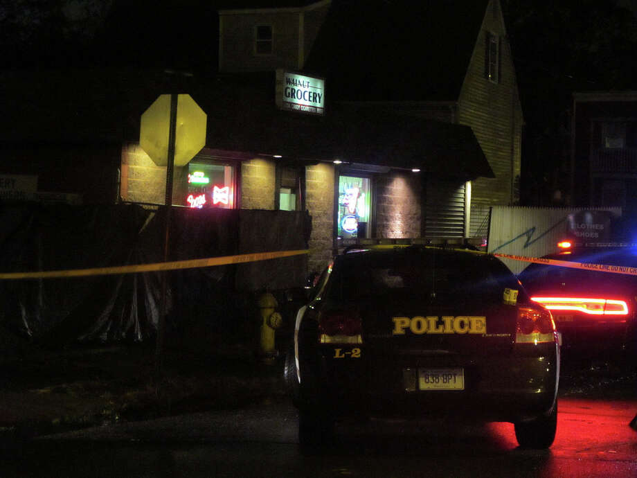 A man was shot on Walnut Street, near the Marina Village housing complex, Tuesday night, Oct. 2, 2012. Photo: Tom Cleary