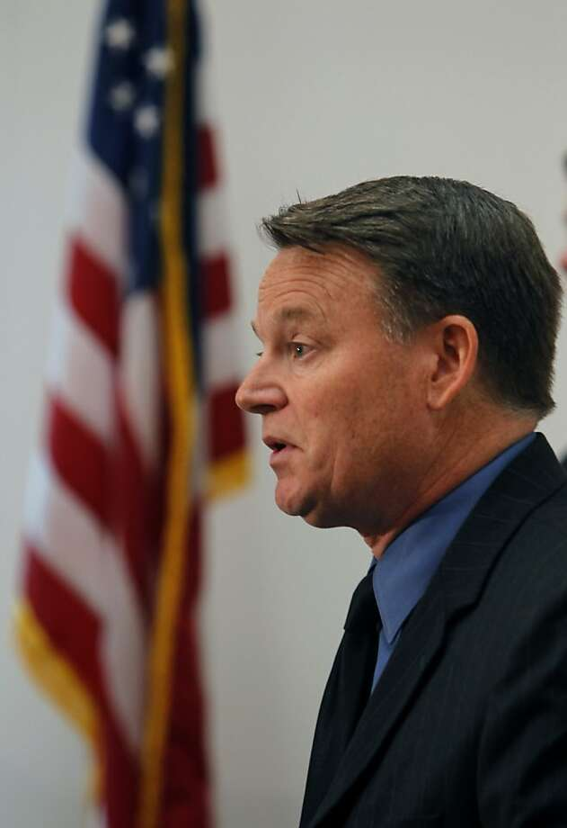 Mark Peterson is accused of basing decisions on politics. Photo: Paul Chinn, The Chronicle