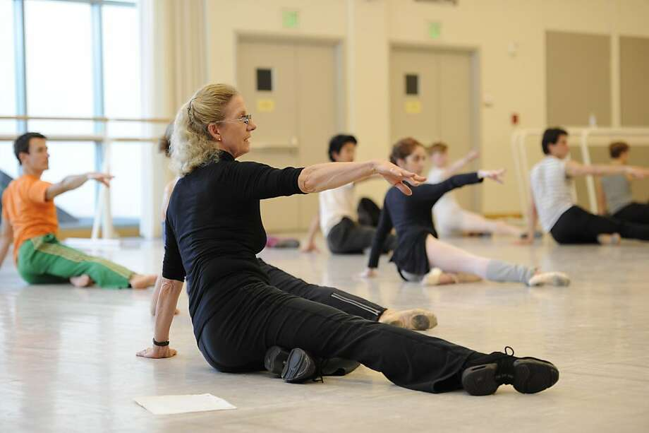 "Betsy Erickson, rehearsing Ratmansky's ""Le Carnaval des animaux,"" has worked with S.F. Ballet as a dancer, a balletmaster, and also choreographed. Menlowe Ballet dances her ""Songs."" Photo: Erik Tomasson, Sn Francisco Ballet"