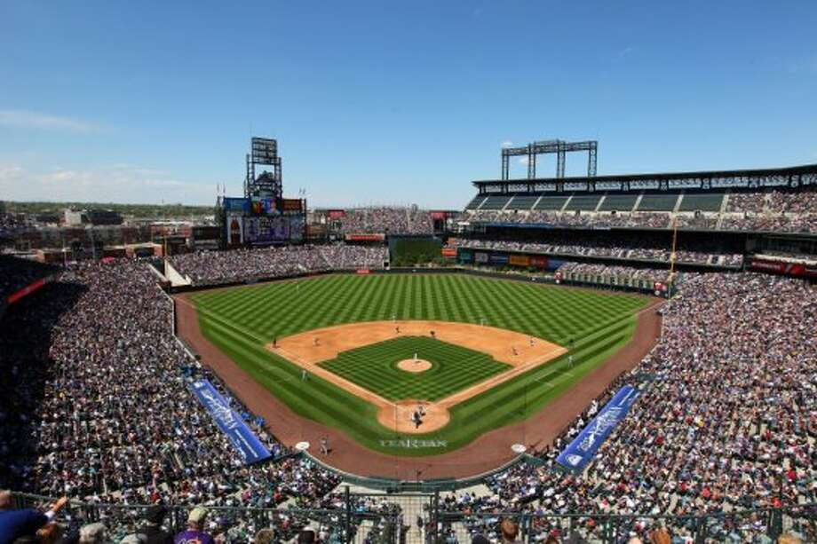 Coors Field – Colorado Rockies – $1.1 million per year.