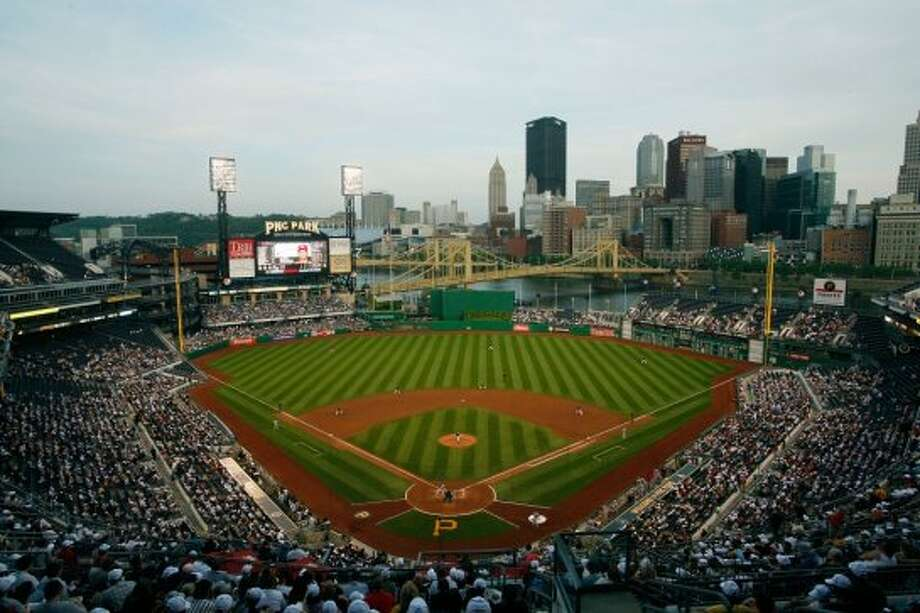 21. PNC Park, home of the Pittsburgh Pirates. Homes cost $85 per square foot, 0.93 times the area average. Photo: Getty Images