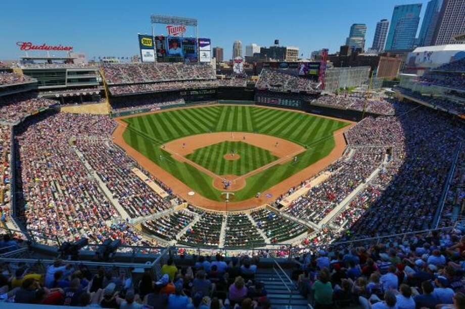 8. Target Field, home of the Minnesota Twins. Homes cost $198 per square foot, 1.92 times the area average. Photo: Getty Images