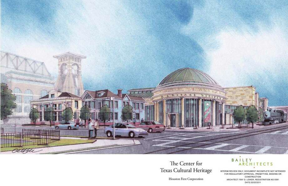 The 60,000-square-foot Center for Texas Cultural Heritage, seen in an artist's rendering, would tell the story of Southeast Texas through interactive exhibits. Photo: AlexisM / Bailey Architects