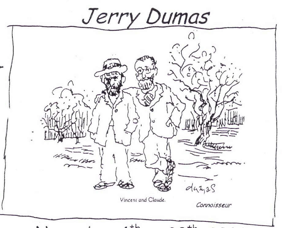 "Cartoonist Jerry Dumas, best known for his comic strip ""Sam and Silo,"" will address the Senior Men's Club of New Canaan, Friday, Oct. 12, at 10 a.m. Photo: Contributed Photo"