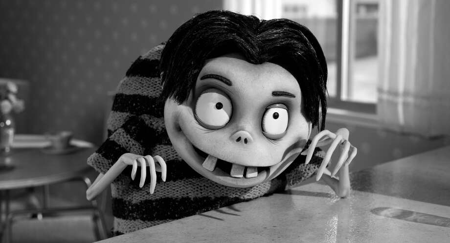"This film image released by Disney shows Edgar ""E"" Gore, voiced by Atticus Shaffer in a scene from ""Frankenweenie."" (AP Photo/Disney) Photo: AP, HOEP / Disney"