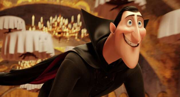 "This image released by Sony Pictures shows Dracula, voiced by Adam Sandler, in a scene from ""Hotel Transylvania."" (AP Photo/Sony Pictures Animation) Photo: AP, HOEP / Sony Pictures"