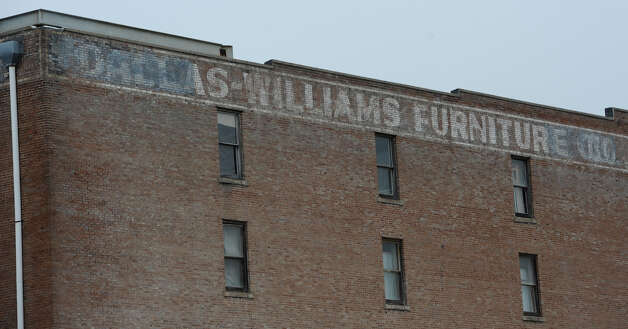"The ""M"" came from this outside wall sign of the old Dallas Williams Furniture building in downtown Beaumont.   Dave Ryan/The Enterprise"