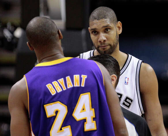 Because he's not afraid of Kobe. Photo: AP