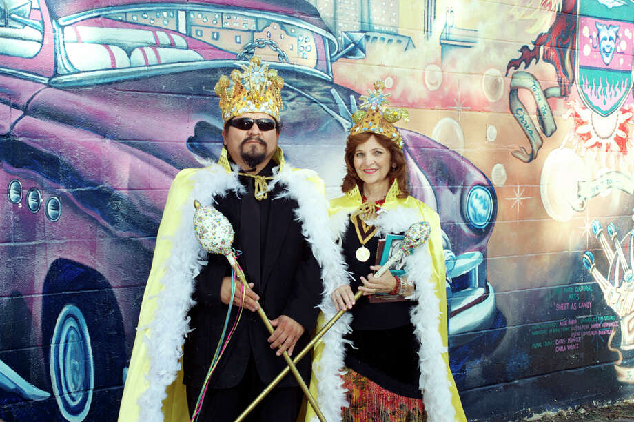 Artist Alex Rubio and poet Carmen Tafolla will reign over the 2012 Huevos Rancheros Gala on Saturday. Photo: Courtesy, San Anto Cultural Arts / San Antonio Express-News