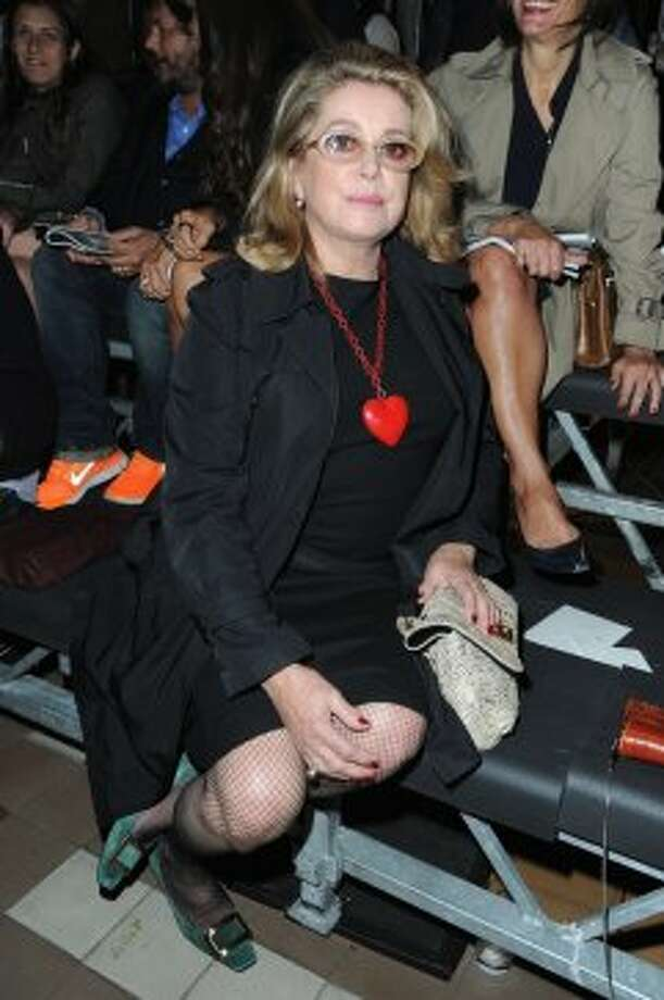 Actress Catherine Deneuve attends the Lanvin Spring / Summer 2013 show as part of Paris Fashion Week at on September 27, 2012 in Paris, France.  (Pascal Le Segretain/Getty Images)