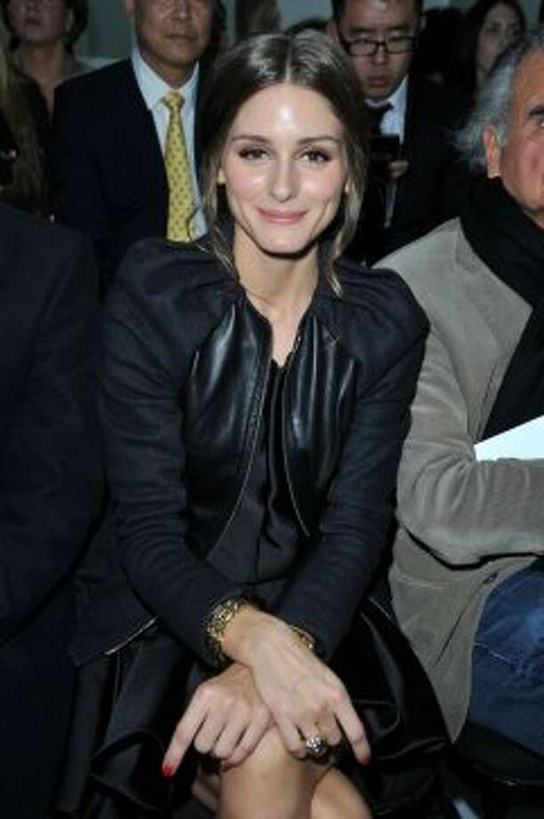 Actress Olivia Palermo attends the Christian Dior Spring / Summer 2013 show as part of Paris Fashion Week on September 28, 2012 in Paris, France.  (Pascal Le Segretain/Getty Images))