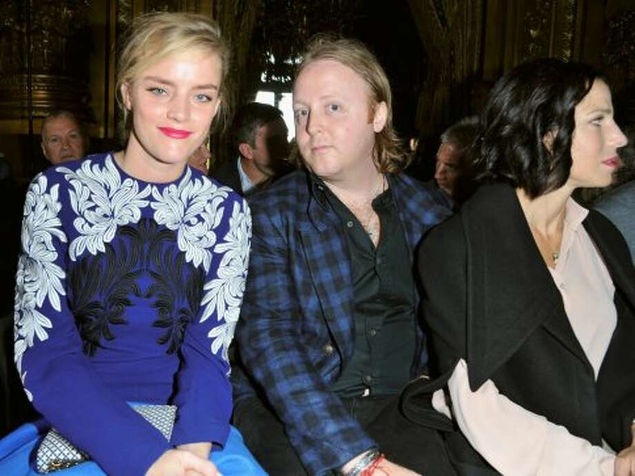 James McCartney supports his sister at the Stella McCartney Spring / Summer 2013 show as part of Paris Fashion Week on October 1, 2012 in Paris, France.  (Pascal Le Segretain/Getty Images)