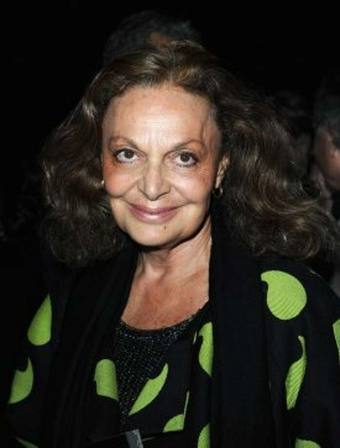 Designer Diane von Furstenberg attends the Saint Laurent Spring / Summer 2013 show as part of Paris Fashion Week on October 1, 2012 in Paris, France.  (Pascal Le Segretain/Getty Images)