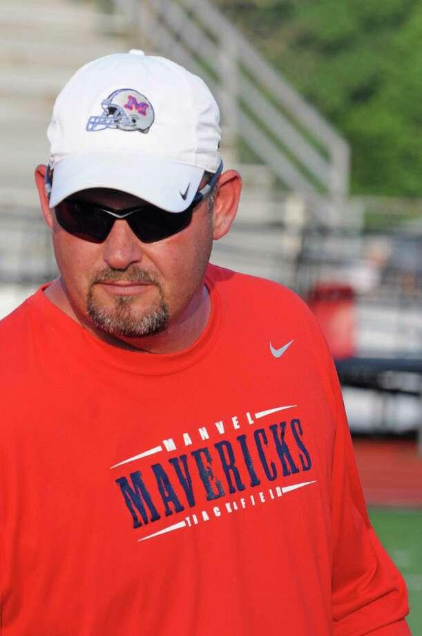Manvel football head coach Kirk Martin Photo: L. Scott Hainline / The Chronicle