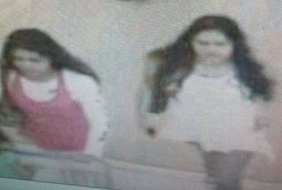Police on Wednesday, October 03, 2012, released this image of two suspects wanted in connection with a carjacking that occurred on Sept. 27, 2012 at the 100 block of Montrose Street. Photo: Courtesy Photo.