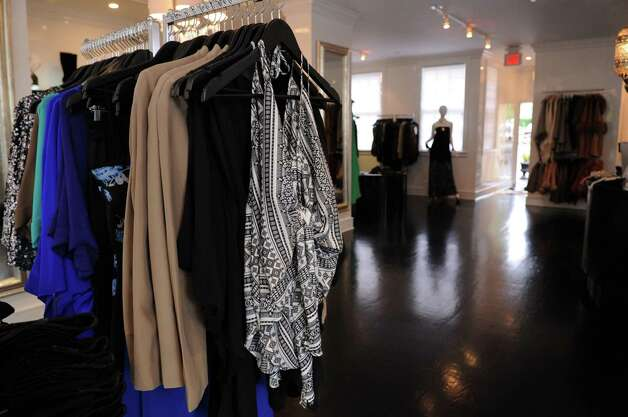 Roam, a clothing boutique in Greenwich, on Wednesday, October 3, 2012. Photo: Lindsay Niegelberg / Stamford Advocate