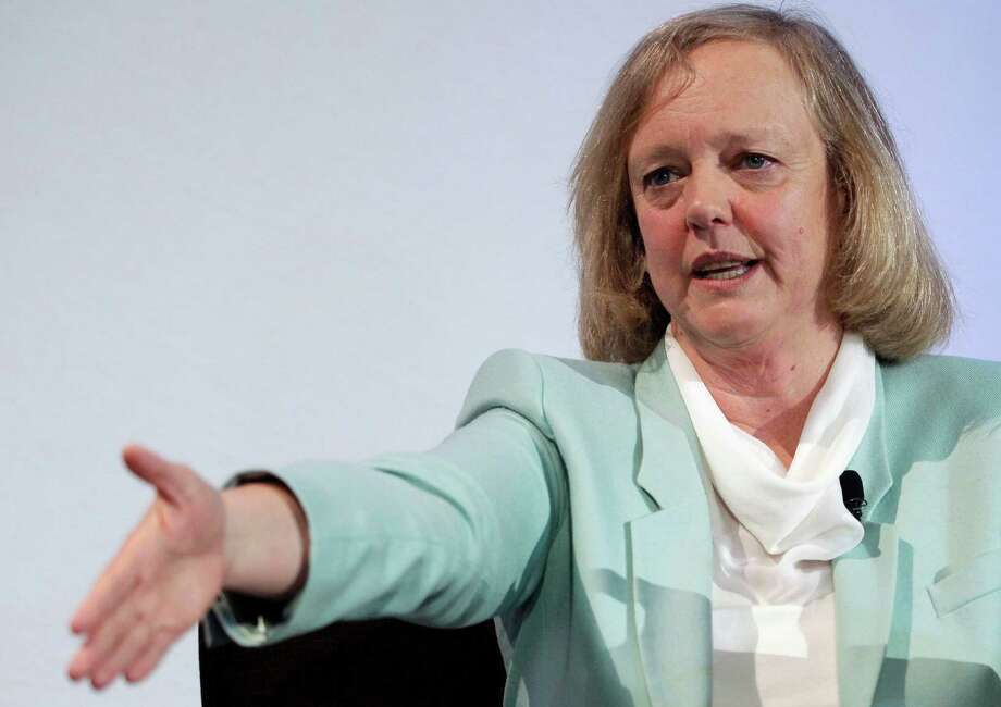 Meg Whitman, shown in March, is accused of a role in an allegedly anticompetitive agreement. Photo: Paul Sakuma, STF / AP