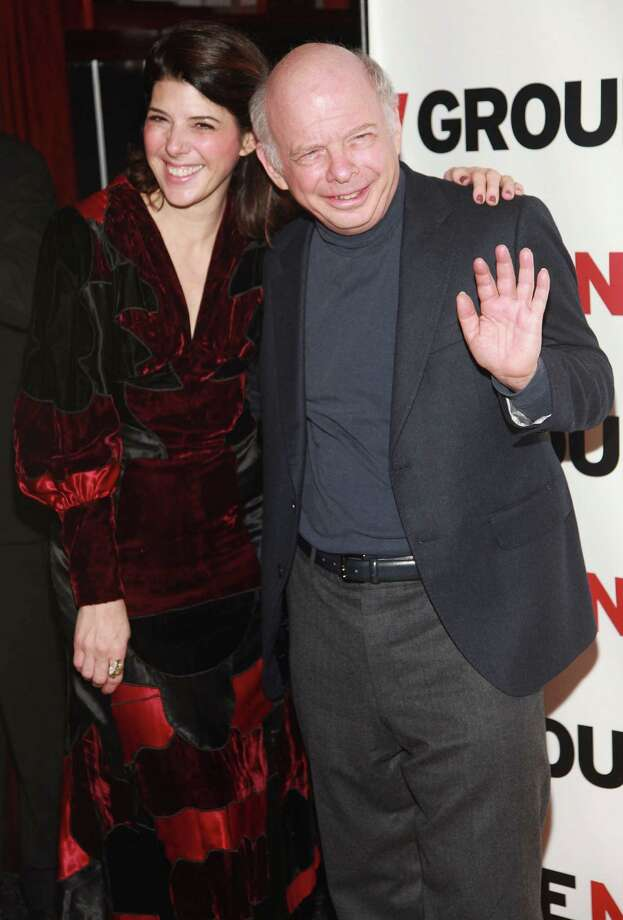 Wallace Shawn, pictured recently with Marisa Tomei. (Photo by Astrid Stawiarz/Getty Images) Photo: Astrid Stawiarz, - / 2011 Getty Images