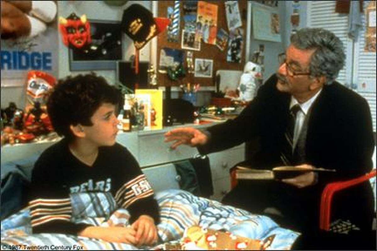 Peter Falk playing Grandfather to Fred Savage's Grandson. Falk did double duty as the film's narrator. Savage's best line -