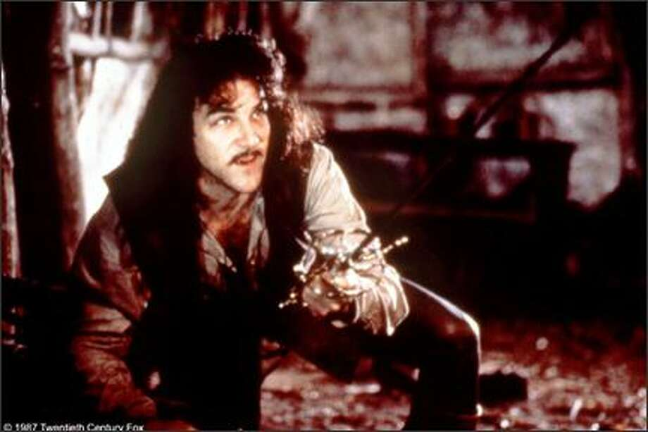 "Mandy Patinkin as vengeful swordsman Inigo Montoya. But you knew that, because of his line to remember – ""Hello. My name is Inigo Montoya. You killed my father. Prepare to die."" (Studio photo) Photo: -"