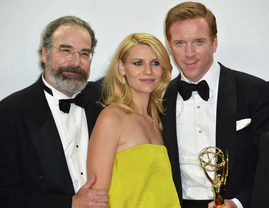 "Mandy Patinkin now, pictured with ""Homeland"" costars Claire Danes and Damian Lewis.  (Photo by Alberto E. Rodriguez/Getty Images) Photo: Alberto E. Rodriguez, - / 2012 Getty Images"