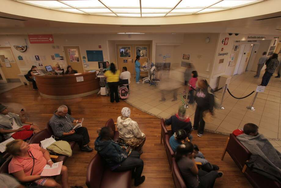 "The waiting room at Highland Hospital in the documentary ""The Waiting Room"" Photo: International Film Circuit Inc."