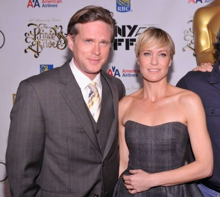 "Robin Wright revealed on ""The Today Show"" that she had a thing for Carey Elwes during the filming. ""Oh, I was so in love with him, oh, my God,"" she said. (Stephen Lovekin/Getty Images)"
