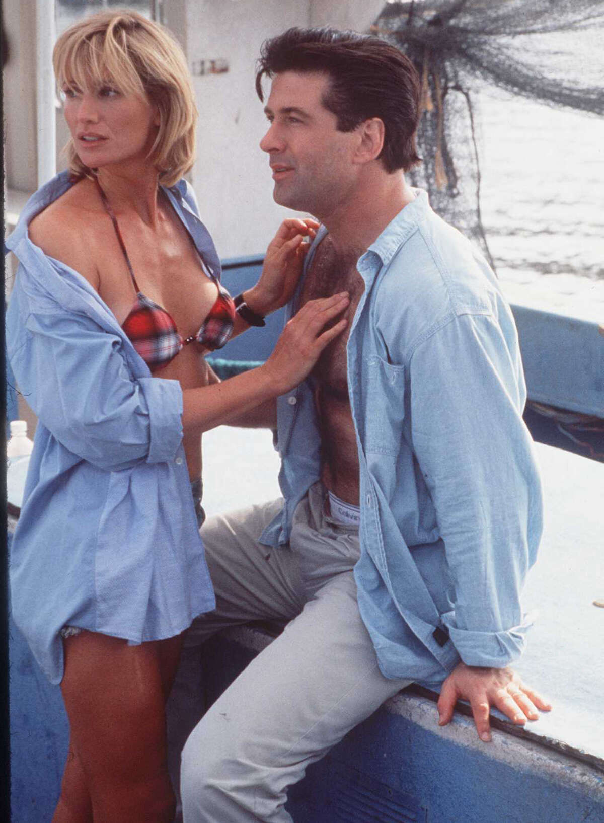 Alec Baldwin showed some chest in the unmemorable 1996 movie