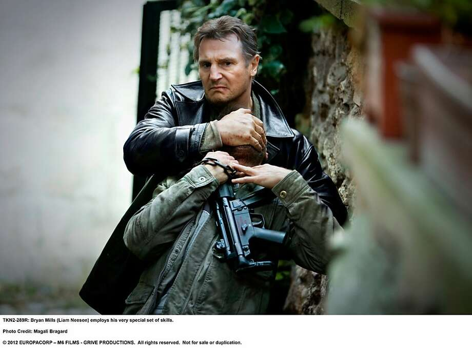 "Former CIA operative Bryan Mills possesses and employs a specialized skill set in ""Taken 2."" Photo: Magali Bragard, Twentieth Century Fox"