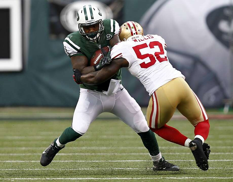 Patrick Willis earned the NFC Defensive Player of the Week award. Photo: Jeff Zelevansky, Getty Images