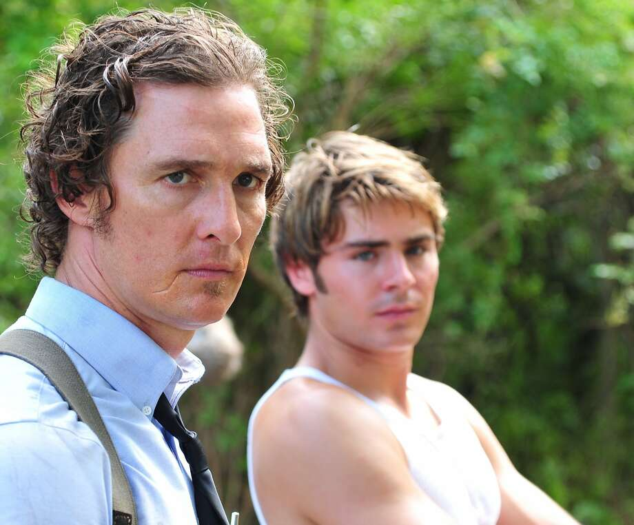 Matthew McConaughey as ÒWard JansenÓ and Zac Efron as ÒJack JansenÓ in THE PAPERBOY. Photo: Millennium Entertainment