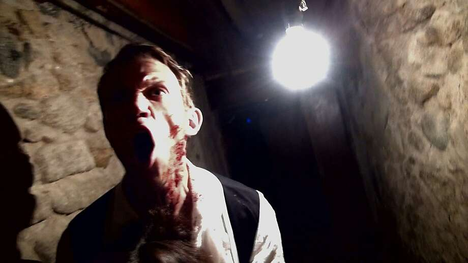 "Matt Bettinelli-Olpin in ""10/31/98,"" one of the six mini-movies within the horror film ""V/H/S."" Photo: Magnet Releasing"