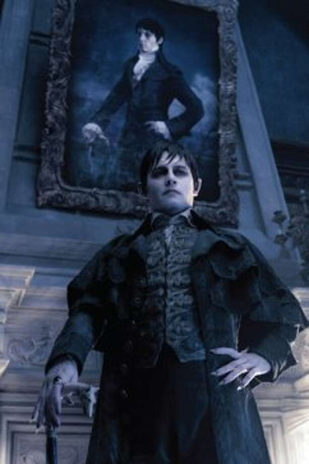 Johnny Depp as Barnabas Collins (Peter Mountain / © 2012 Warner Bros. Entertainment Inc. - U.S., Canada, Bahamas & Bermuda. © 2012 Village Roadshow Films (BVI) Limited – All other territories.)