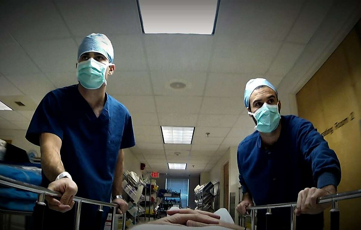 A still from ESCAPE FIRE: The Fight to Rescue American Healthcare (2012). Filmmakers Matthew Heineman and Susan Froemke interweave dramatic personal stories with the efforts of leaders battling to transform healthcare at the highest levels of medicine, industry, government, and even the U.S. military.