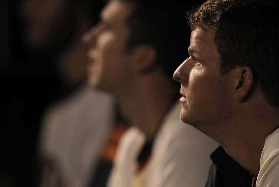Matt Cain, the anchor of the Giants'  rotation, has made 235 regular-season starts in the major leagues; the five A's starting pitchers who are rookies have combined for 111 starts. Photo: Carlos Avila Gonzalez, The Chronicle